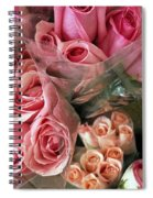 Roses For Sale Spiral Notebook