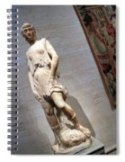 Rossellino's The David Of The Casa Martelli Spiral Notebook
