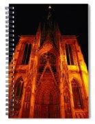 Rouen Church Spiral Notebook