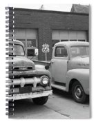 Route 66 Classic Cars Spiral Notebook