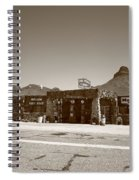 Route 66 - Cool Springs Camp Spiral Notebook