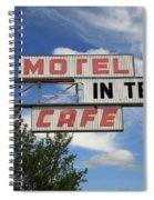 Route 66 - Glenrio Texas Spiral Notebook