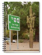 Route 66 - Kingman Arizona Spiral Notebook
