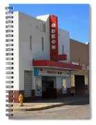 Route 66 - Odeon Theater Spiral Notebook