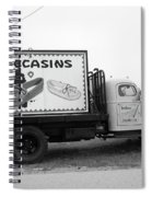 Route 66 - Oklahoma Trading Post Truck Spiral Notebook