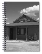 Route 66 - Old Log Cabin Spiral Notebook