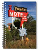 Route 66 - Paradise Motel Spiral Notebook