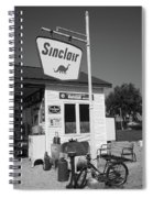 Route 66 - Sinclair Station Spiral Notebook