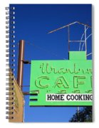 Route 66 - Uranium Cafe Spiral Notebook