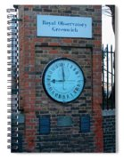 Royal Observatory Grenwich  Spiral Notebook