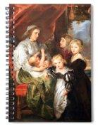 Rubens' Deborah Kip -- Wife Of Sir Balthasar Gerbier -- And Her Children Spiral Notebook