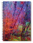 Run Forest Run Spiral Notebook