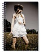 Rural Darkness Spiral Notebook