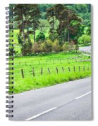 Rural Road Spiral Notebook