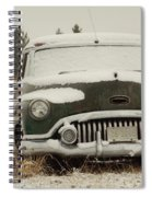 Rusting In The Snow Spiral Notebook