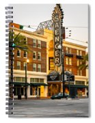 Saenger Theatre New Orleans Paint 2 Spiral Notebook