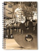 Safeco Field - Seattle Mariners Spiral Notebook