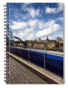 Sage Gateshead And Newcastle Skyline Spiral Notebook