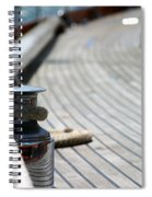 Sail Boat Rope Spiral Notebook