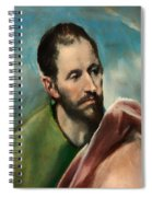 Saint James The Younger Spiral Notebook