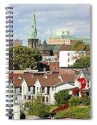 Saint John New Brunswick Spiral Notebook