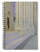Saint John The Divine Cathedral Columns Spiral Notebook