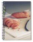 Salmonella Contamination Spiral Notebook