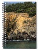 Salt Point Cliffs Spiral Notebook