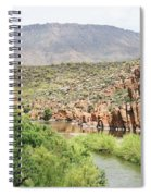 Salt River Above Roosevelt Lake Spiral Notebook
