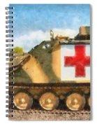 Samaritan Ambulance Spiral Notebook