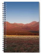 San Francisco Peaks Sunrise Spiral Notebook