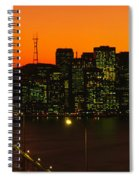 San Franscisco Ca Spiral Notebook
