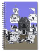 San Xavier Mission Sketched By Art Students C. 1930 Tucson Arizona Spiral Notebook
