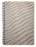 Sand Ripples Abstract Spiral Notebook