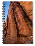 Sandstone Varnish Cliff - Coyote Gulch - Utah Spiral Notebook
