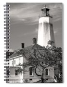 Sandy's Mark Bw Spiral Notebook