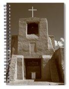 Santa Fe - San Miguel Chapel Spiral Notebook
