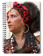 Santeria Woman Spiral Notebook