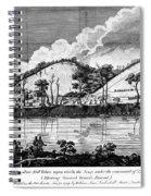 Saratoga: Encampment, 1777 Spiral Notebook