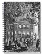 Saratoga Springs, 1865 Spiral Notebook