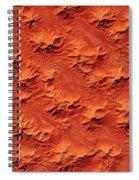 Satellite View Of Murzuk Desert, Libya Spiral Notebook