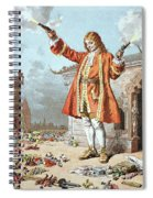 Scene From Gullivers Travels Spiral Notebook