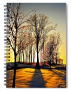 Scenic Sunset Spiral Notebook