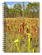 Schnell's Pitcher Plant Spiral Notebook