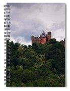 Schonburg Oberwesel Am Rhein Spiral Notebook