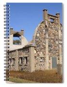 Schott Stone Barn Spiral Notebook