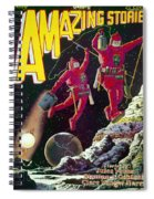 Science Fiction Cover 1929 Spiral Notebook