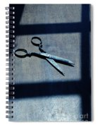 Scissors Spiral Notebook