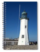 Scituate Lighthouse Spiral Notebook