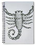 Scorpio Spiral Notebook